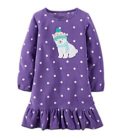 Carter's® Girls' 2T-14 Polar Bear Gown