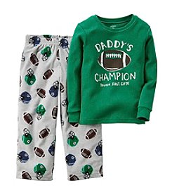 Carter's® Boys' 12M-10 Two-Piece Daddy's Champion Pjs
