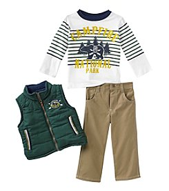 Nannette® Boys' 2T-7 Three-Piece Campfire Set