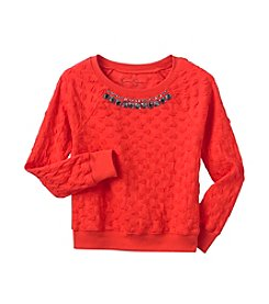 Jessica Simpson Girls' 7-16 Ariel Sweatshirt