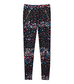 Jessica Simpson Girls' 7-16 Splatter Dot Clara Jeggings