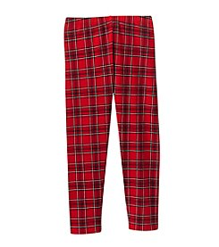 Little Miss Attitude Mix & Match Girls' 2T-6X Plaid Print Leggings
