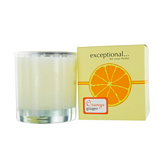 Fragrance Net Limited Edition Orange Ginger Scented Tapered Glass Jar Candle