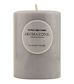 Lavender & Vanilla Essential Blend Pillar Candle