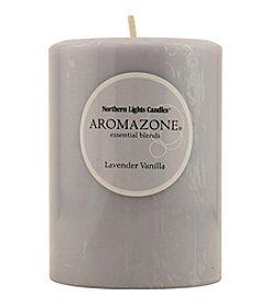Lavender & Vanilla Essential Blend Pillar Candle