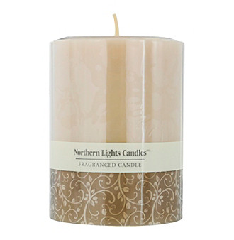 Sandstone Scented Pillar Candle