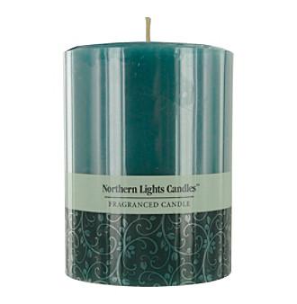 Ocean Breeze Pillar Candle