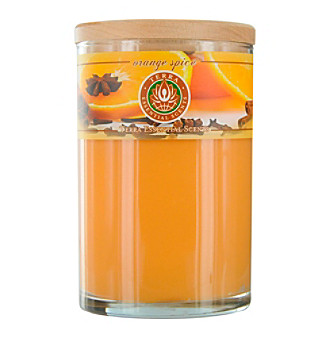 Terra Essential Scents Orange Spice Soy Candle Tumbler
