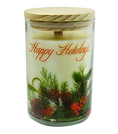Happy Holidays Soy Candle Tumbler