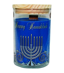 Happy Hanukkah Soy Candle Tumbler