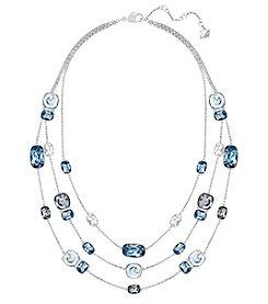 Swarovski® Silvertone Divinity Necklace