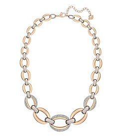 Swarovski® Two Tone Circlet Necklace