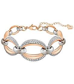 Swarovski® Two Tone Circlet Bracelet