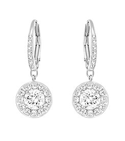 Swarovski® Silvertone Attract Light Earrings