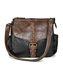 GAL Harness Braid Flap Crossbody