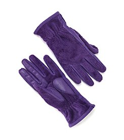 Isotoner Signature® Smartouch Teddy Gloves
