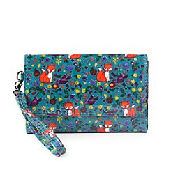 Relativity® Forest Fox Midi Cell Wristlet