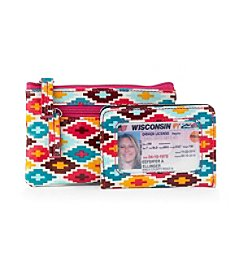 Relativity® Southwest Ikat Key Coin Wallet