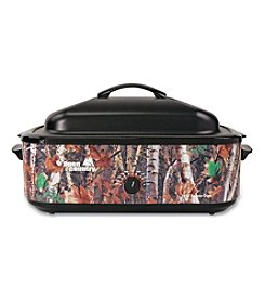 Nesco® Camouflage 18-Qt Roaster with Porcelain Cookwell
