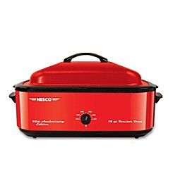 Nesco® Metallic Red 18-Qt. Roaster