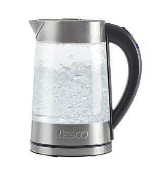 glass water kettle