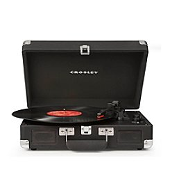 Crosley® Black Suede Cruiser Turntable