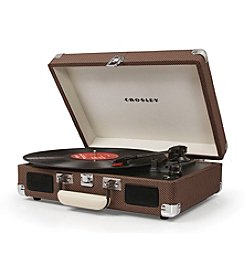 Crosley® Tweed Cruiser Portable Turntable