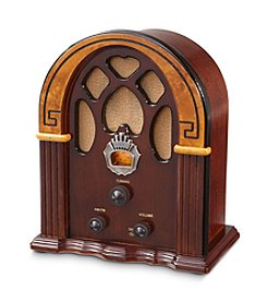 Crosley® Companion Retro AM/FM Radio with 1 Full-Range Speaker
