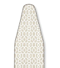 The Macbeth Collection Ironing Board Cover in Rayna Faux Jute