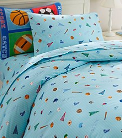 Olive Kids Game On! Duvet Cover