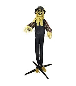 5.5' LED Light Battery Operated Animated Scarecrow