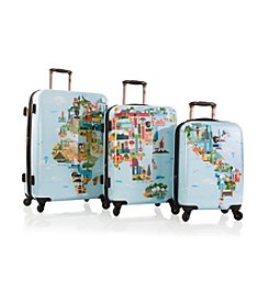Heys® America FVT World Map Luggage Collection