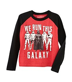 Ruff Hewn Boys' 2T-7 Long Sleeve We Run This Galaxy Tee