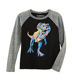Ruff Hewn Boys' 2T-7 Glow In The Dark Technicolor Dino Tee