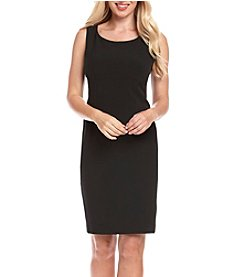 Kasper® Crepe Sheath Dress