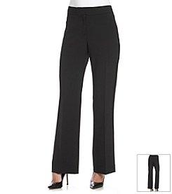 Kasper® Curvy Crepe Pants