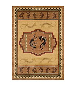 United Weavers Genesis Ancient Icon Natural Rug