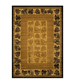 United Weavers Genesis Pinecones Natural Rug