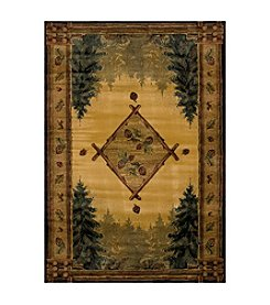 United Weavers Genesis Forest Trail Lodge Rug