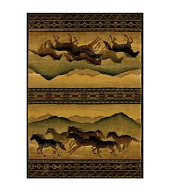 United Weavers Genesis Chestnut Mare Lodge Accent Rug