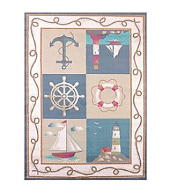 United Weavers Regional Concepts Maritime Coast Scatter Rug