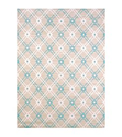 United Weavers Regional Concepts Trellis Blue Scatter Rug