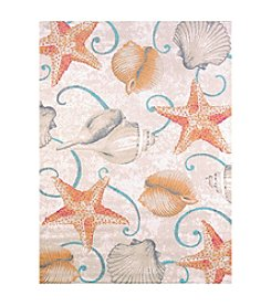 United Weavers Regional Concepts Stars and Shells Scatter Rug