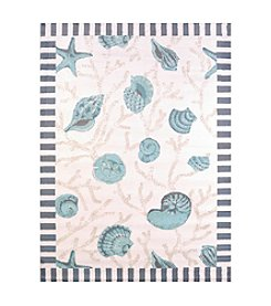 United Weavers Regional Concepts Shells Scatter Rug