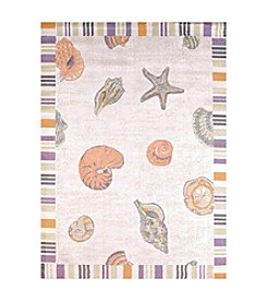 United Weavers Regional Concepts Sand and Shells Scatter Rug
