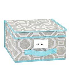 ClosetCandie Dove Grey Medium Storage Box