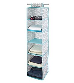 ClosetCandie Dove Grey 6-Shelf Organizer