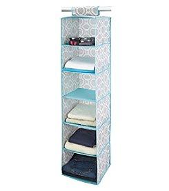 ClosetCandie Dove Grey 6-Shelf Organizer