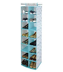 ClosetCandie Dove Grey 16-Pocket Shoe Organizer