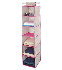 ClosetCandie Hot Pink 6-Shelf Organizer